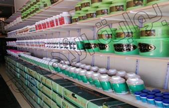 ضبط 40 طن أسمدة ومبيدات مجهولة بـ3 مصانع بالإسكندرية و14 محل جزارة مخالف بالقليوبية
