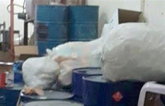 ضبط 480 عبوة مبيدات زراعية محظور تداولها داخل محل بمركز كفرالزيات