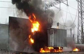 إخماد حريق شب داخل كشك كهرباء في سمنود بالغربية