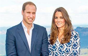 ولي عهد بريطانيا وزوجته يرزقان بصبي