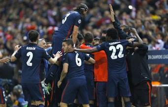 أتلتيكو مدريد يفوز على ليستر سيتي بهدف نظيف في ذهاب ربع نهائي أبطال أوروبا