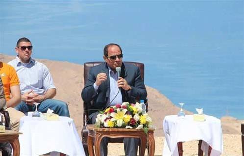السيسي لا أقلق من محاولات الخارج لهدم مصر ولكن ما يقلقني هو الداخل وأحذر من الاستسلام للإحباط