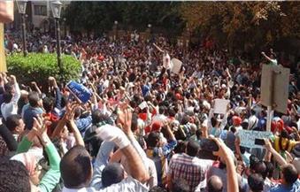 """السجن 7 سنوات لـ5 متظاهرين فى """"جمعة الأرض"""""""