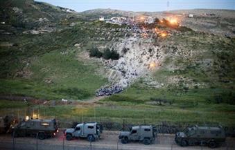 جيش الاحتلال الإسرائيلي يقصف مواقع سورية بعد سقوط قذيفة في الجولان