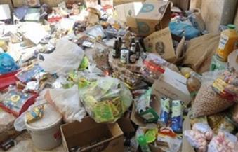 ضبط 880 كيلو أغذية منتهية الصلاحية وغلق 15 منشأة غير مرخصة في قطور بالغربية