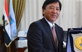السفير الياباني وأفراد أسرته يحتفلون برأس السنة في الأقصر