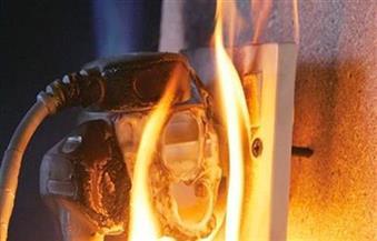 ماس كهربائي وراء حريق شقة سكنية بالمقطم
