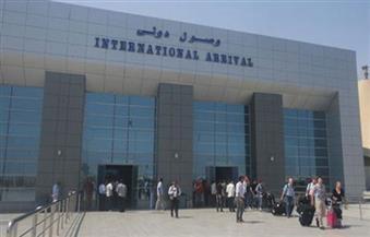 """""""مديري المطارات"""" يبحث تحديد ميعاد تشغيل مبنى الركاب رقم (2) بمطار الغردقة"""
