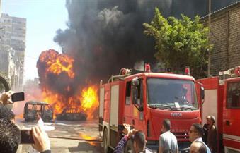 السيطرة على حريق بمصنع فوم بكرداسة