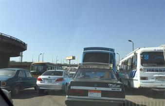 بالصور.. النشرة المرورية  للعاصمة.. كثافات بكوبري أكتوبر وكورنيش النيل