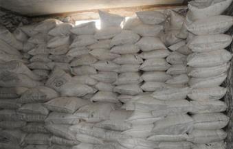 ضبط مخزن سلع غذائية بداخله 4.95 طن أرز وسكر غير صالحة للاستخدام بالقليوبية