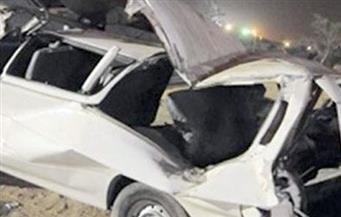 مصرع وإصابة 17 شخصًا في انقلاب سيارة بالصف