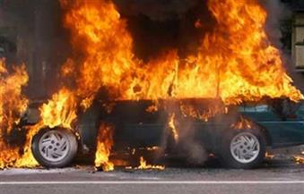 إصابة 4 مواطنين في حادث تصادم على طريق دمو بالفيوم