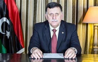 رئيس حكومة الوفاق يصل القاهرة لبحث آخر تطورات الأوضاع الليبية