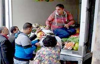 حي الزاوية الحمراء يخصص أياما لسيارات بيع السلع الغذائية بأسعار مخفضة