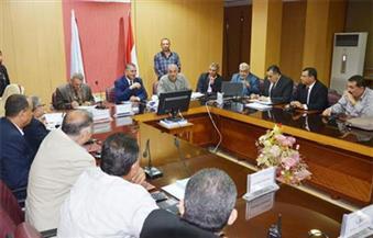 وزيرا الإنتاج الحربي والاستثمار ومحافظ كفرالشيخ يبحثون فرص تنمية الساحل الشمالي
