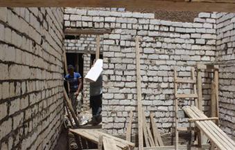 تضامن الأقصر تعيد بناء منزل مواطن بعد انهياره