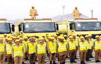 """""""الدفاع المدني السعودي"""" تُواصل استعداداتها للحفاظ على سلامة الحجاج بالمدينة المنورة"""