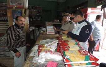 ضبط أغذية غير صالحة للاستخدام الآدمي في حملة على الأسواق بالإسكندرية
