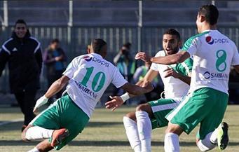 المصري يتقدم على قنا بالهدف الأول عن طريق أحمد ياسر ريان