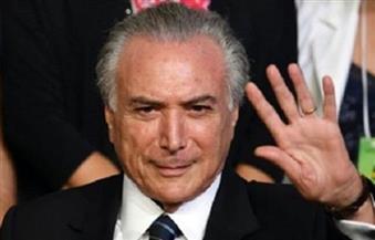 تسجيل لرئيس البرازيل ميشال تامر وهو يعطي موافقته على رشاوى