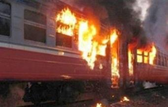 مصدر أمني يكشف التفاصيل الكاملة لحريق قطار بمحطة مصر وإخلاء ركابه