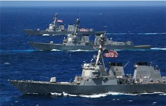 البحرية الأمريكية تعلن مصادرة شحنة صواريخ إيرانية في طريقها لليمن