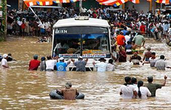 """مصرع 120 شخصًا فى انهيارات أرضية وفيضانات بـ""""نيبال"""""""