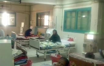 انتظام العمل بوحدات الغسيل الكلوي بالمستشفيات العامة والمركزية بمحافظة كفرالشيخ