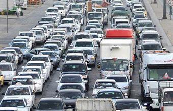 """شلل مروري بطريق """"القاهرة - الإسكندرية"""" الزراعي بسبب تصادم 6 سيارات"""
