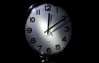 ساعة على التوقيت الحديث