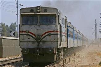 3 قطارات تغادر ميناء دمياط بحمولة 3929 طن قمح