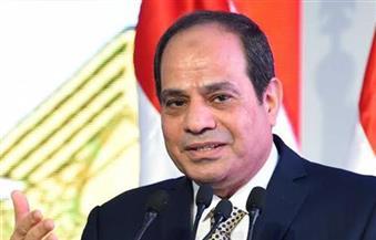 السيسى: مصر لا تنسى شهداءها الذين يقدمون أرواحهم فداءً للوطن