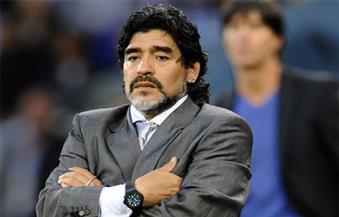 ماردونا يقترب من التأهل بفريقه لدورى الدرجة الأولى المكسيكى