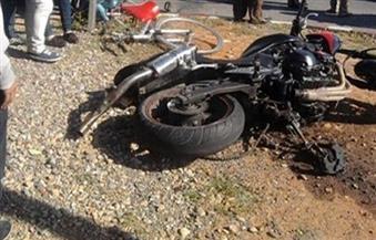 مصرع شاب وإصابة شقيقه فى حادث انقلاب دراجة بخارية ببورسعيد