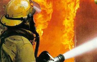 اندلاع حريق فى 11 منزلاً وحظيرة مواشٍ بقرية عرب العطيات فى أسيوط
