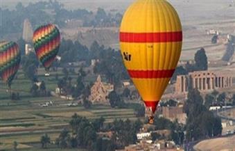 تنظيم  16 رحلة بالون طائر بالأقصر أقلت 289 سائحًا
