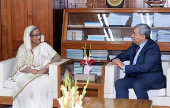 رئيسة وزراء بنجلاديش تشيد بدور مصر فى محاربة الإرهاب