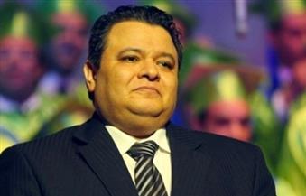 """خالد جلال يشهد العرض المسرحى """"المتفائل"""" على المسرح القومى"""