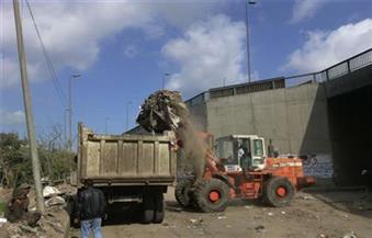 رفع 2440 طن مخلفات وإزالة 25 حالة تعدٍ علي الأراضي بمركز أبنوب بأسيوط