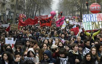 الشرطة الفرنسية: 125 ألف شخص شاركوا اليوم في المظاهرات ضد قانون العمل