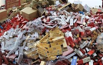 ضبط 630 ألف علبة سجائر مجهولة المصدر بحوزة 4 أشخاص بأسوان