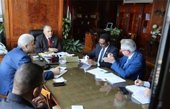 """لإعادة استخدام المياه المالحة في الزراعة.. وزير الري يلتقي ممثل منظمة الـ """"فاو"""" بالقاهرة"""
