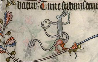 """بالصور.. كيف حكمت """"الأرانب"""" عالم العصور الوسطى من خلال المخطوطات"""