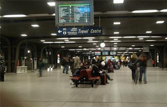 بسبب طردين مشبوهين.. إخلاء محطة القطار الرئيسية في بروكسل