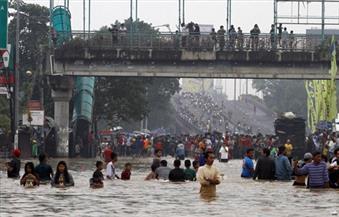 فيضانات تضرب مناطق واسعة من العاصمة الإندونيسية