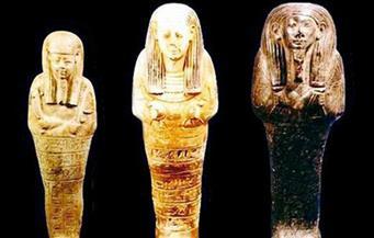 ضبط 3 تجار آثار وبحوزتهم 11 تمثالًا أثريًا داخل مزرعة بأبوالنمرس