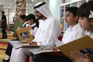 """مزاد خيري بدبي غداً لدعم حملة """"أمة تقرأ"""" وتوفير 5 ملايين كتاب للمدارس والطلاب بمخيمات اللاجئين"""