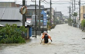 مصرع وفقدان العشرات إثر هطول أمطار كثيفة بمقاطعة كوماموتو اليابانية