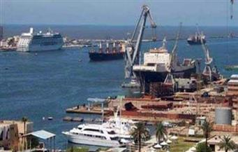 وصول 12 سفينة تحمل مواد غذائية وبترولية لميناء الإسكندرية